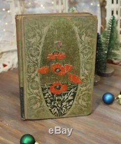Antique Edgar Allan Poe Weird Tales Henry Altemus Philadelphia 1895 Floral Rare