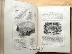 Antique Hudson River Valley Illustrated New York 1866 Wilderness Americana RARE