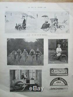 Antique Major Taylor Newspaper Magazine Orient Cycles 1898 Rare