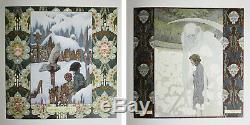Antique RARE 1908 MACHEN KALENDAR German Fairy Tales Calendar Book Art Nouveau