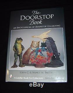 Antique Rabbit With Top Hat National Foundry #89 Cast Iron Doorstop In Book Rare