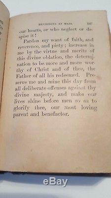 Antique Rare 1878 The Golden Treasury of Prayer Rev. O'Reilly Catholic Manual