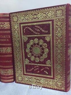 Antique Rare 1898 Breviarium Romanum Set, Roman Catholic 4884