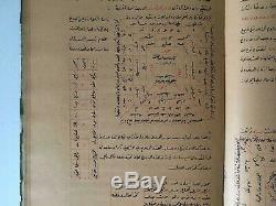 Antique Rare Important Islamic Talisman & Magic Manuscript Jaldaki Alchemy Book