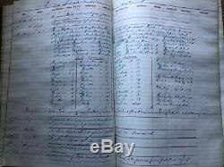 Antique Rare Nyc Municipal Police Log Book 1875 Pre (nypd), Approx300 Pages