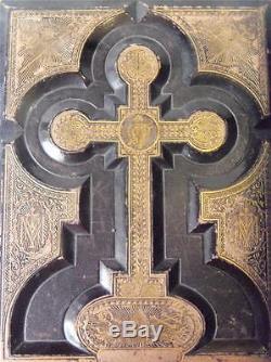Antique Rare Victorian Holy Bible, Circa 1860's, John E. Potter & Co. Philadelph