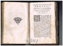 Antique Religious Book. The very rare. End of the 16th century