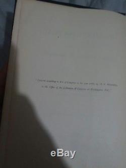 Antique, Very Rare 1st Edition 1888 Secret Doctrine Vol Ii, Blavatsky Occult