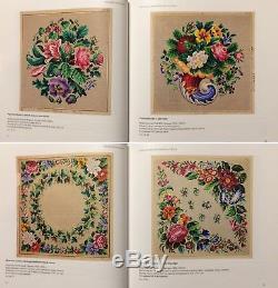 Antique Vintage Patterns Beadwork Cross Stitch Magic Of Pattern Book RARE OOP