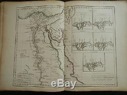 Antique World Atlas Book 1811 To 1820 Maps Fx Delamarche America Included Rare