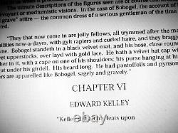 Antique book biography john dee occult rare esoteric black magic history alchemy