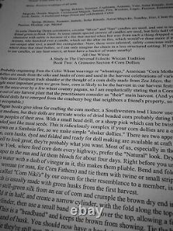 Antique book grimoire magic rare esoteric manuscript occultism witchcraft manual