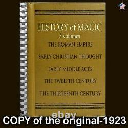 Antique book history occult magic esoteric witchcraft rare manuscript grimoire X