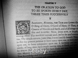 Antique book occult enochian magick rare esoteric manuscript black magic history