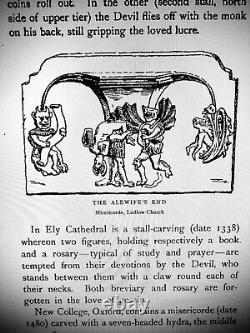 Antique book satanic grimoire black magic rare esoteric manuscript occult devil