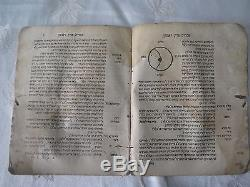 Antique judaica Chochmat Shlomo Maharshal, Cracow 1582 Hebrew rare First Edition