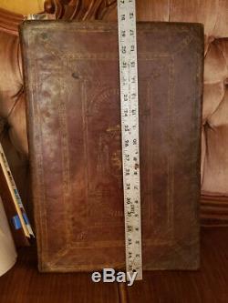 Antique rare Romanum 1648 Catholic Missale old book Venice pope Clementis VIII