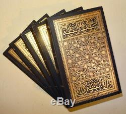 Arabian Nights Richard F. Burton 1884 X 5 Vols Rare 1st Edition Antique Books