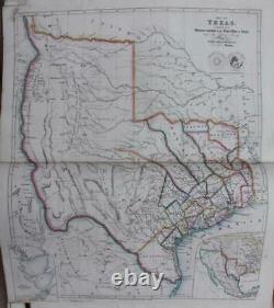 Arrowsmith's London Atlas 66 Maps Including The Rare Texas Map 1843