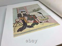 Art Print Book Ukiyoe Utamaro Kitagawa Toyoharu Utagawa Rare Vintage