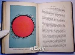 Astronomy, J. Rambosson, 1897 Antique, 10 Coloured Plates & 63 Woodcuts, Rare