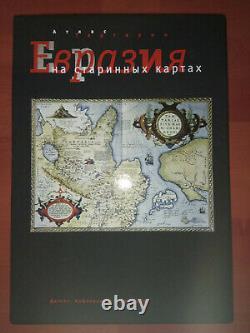 Atlas of the Tartary (Tartaria). Eurasia on older maps. RARE BOOK! Big format
