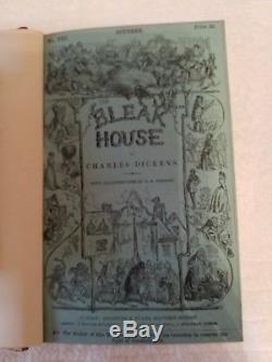 Bleak House, Charles Dicken, Rare Antique Book
