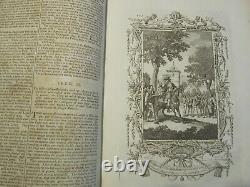 C1792 System of Geography History Books RARE John Payne withEngravings Antique OLD