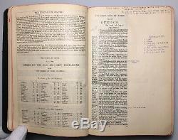 Cambridge Wide Margin Holy Bible, KJV, Very Rare Antique