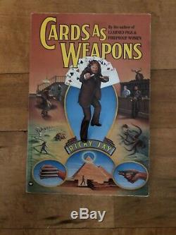 Cards as Weapons Ricky Jay 1977 -vintage & rare magic book
