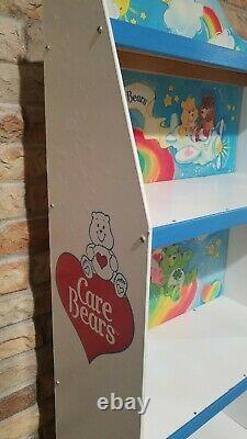 Care Bears Bookshelf Bookcase Display Vintage Book Shelf Playroom Rare