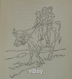 Children Hardcover Rare Book Collectible Antique Vintage Paul Brown Horse Art
