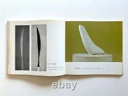 Constantin Brancusi Rare 1975 1st Edtn Modernism Sculpture Exhibition Art Book
