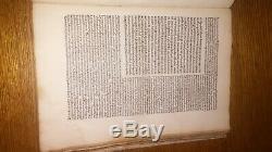 De Oratore by Cicero 1495 Incunable Edition Antique Vintage RARE Old Latin Book