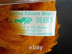 Deans Rag Book Mango Jerry Bear Ltd. Ed. 71/150 Rare Jill Baxter Artist 12