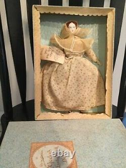 Doll RARE Ruth Gibbs Special G Fox + Co. Godey Lady Book Boxed Mrs. Caitlin
