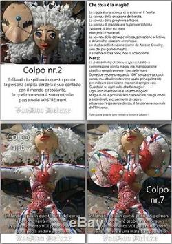 Doll rare voodoo professional magic+book+instruction antique vintage one pieces