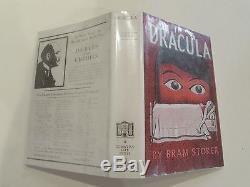 Dracula, by Bram Stoker -1927 Very Rare Early Edition, Antique Hardcover Book