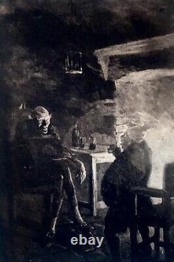 EDGAR ALLAN POE 1902 4 Vols TALES #45/150 Leather Bound Set ANTIQUE 1st Ed Rare