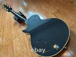 Epiphone Rare Vintage 1995 Japanese Les Paul Custom Open Book Headstock Fujigen