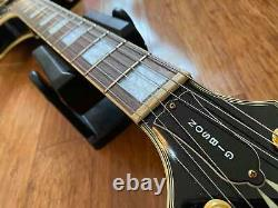 Epiphone Rare Vintage 1998 Japanese Les Paul Custom Ebony Open Book Headstock