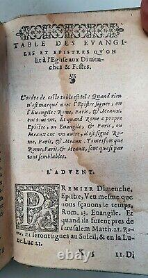 Extremely rare French Bible from 1560 With many woodcut illustrations