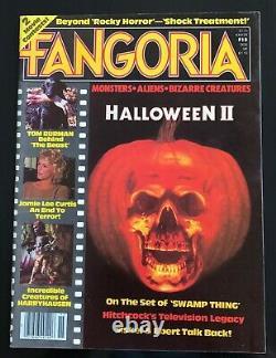 FANGORIA MAGAZINE 15 1981 HALLOWEEN 2 RARE VINTAGE UNREAD 1st PRT MINT
