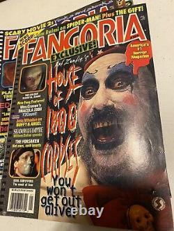 FANGORIA MAGAZINE (73 total) WHOLESALE LOT RARE Vintage 1980 Collectible Auction
