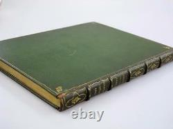 FINE ANTIQUE BOOK BINDING 1899 Valentine With A Verdict PRIVATE PRESS Rare VTG
