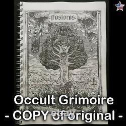 Fosforos nefastos antique book occult ceremonial black magic rare dark grimoire