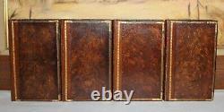HOMER'S ILIAD & ODYSSEY/TROJAN WAR/GREEK EPIC/ 1783 Rare Antique Fine Binding