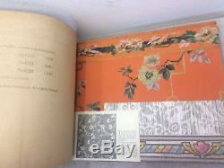 HUGE Rare Vintage Antique 1929 PAN-AMERICAN Wallpaper Sample Book Catalog