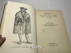 Herbals their Origin and Evolution Agnes Arber 1912 1st ed HC Antique Book RARE