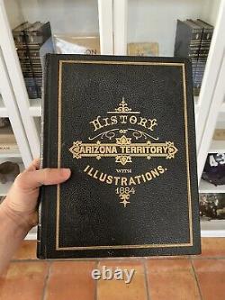 History of the Arizona Territory 1884 Northland Press Antique Rare (5/350)